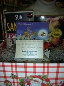 """La onlus di NIKI APRILE GATTI """"@n@g"""" manda pacchi con libri      ai   detenuti di Avezzano."""