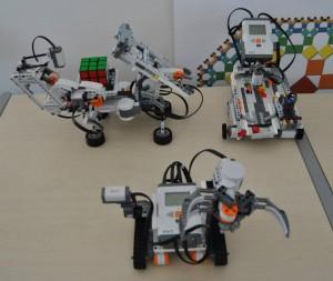 Il robottino costruito dai ragazzi
