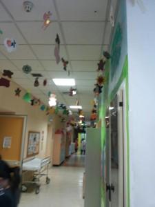 Il reparto di pediatria oncologica