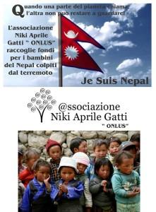 Un fiore per il Nepal